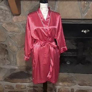 Polka Dot robe by Cacique